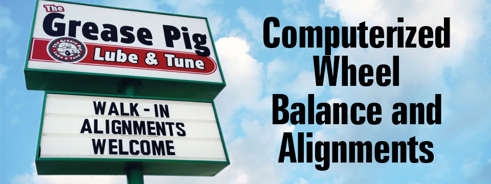 The Grease Pig Lube & Tune   Oil Changes – Tires – Brakes